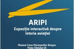 """""""ARIPI"""" – expoziție interactivă despre istoria aviației"""